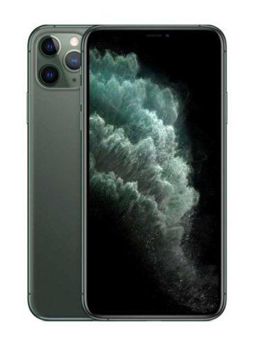 ابل ايفون 11 برو ماكس شريحتين مزود بفيس تايم 512 جيغابايت 4G LTE اخضر