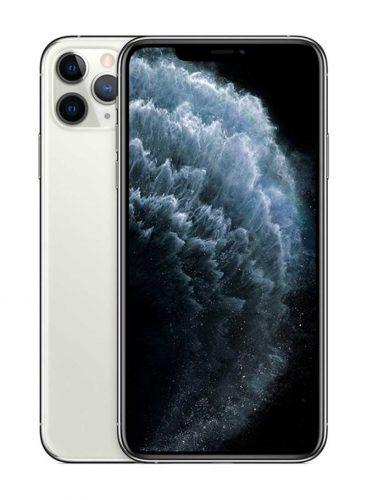 ابل ايفون 11 برو ماكس شريحتين مزود بفيس تايم 512 جيغابايت 4G LTE فضي