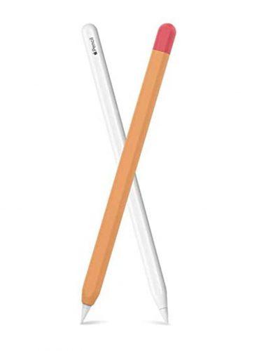 اهاستايل غطاء حماية لقلم ابل الجيل الثاني برتقالي /اورانج