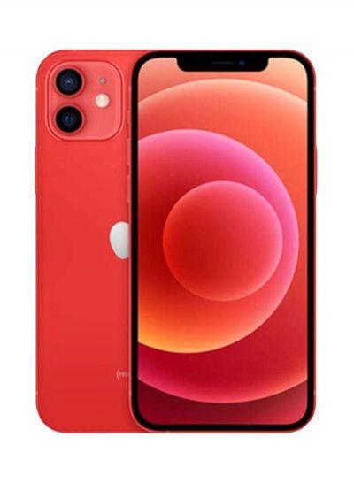 ابل ايفون 12 مع فيس تايم 64 جيجا 5G احمر