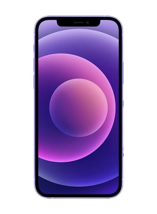 ابل ايفون 12 مع فيس تايم 64 جيجا 5G بنفسجي