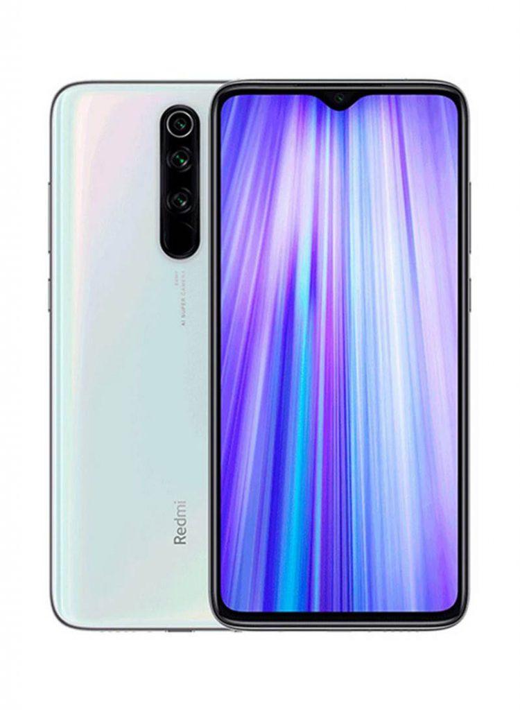 شاومي هاتف ريدمي نوت 8 بمواصفات عالمية ثنائي الشريحة لون أبيض مع ذاكرة داخلية سعة 64 جيجابايت وذاكرة رام 4 جيجابايت، يدعم تقنية 4G LTE