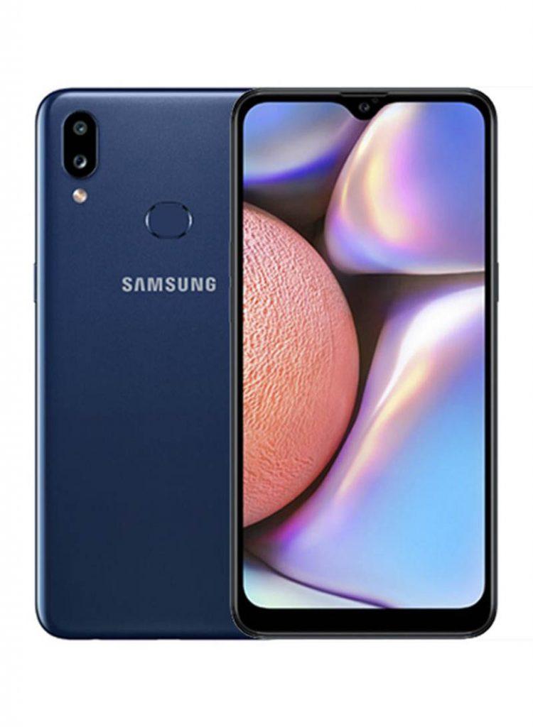 سامسونج هاتف جالاكسي A10s ثنائي الشريحة لون أزرق بذاكرة رام 2 جيجابايت وذاكرة داخلية 32 جيجابايت ومزود بتقنية 4G LTE (نسخة)