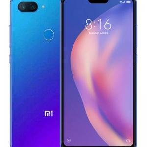 شاومي هاتف مي 8 لايت ثنائي الشريحة لون أزرق أورورا مع ذاكرة رام سعة 4 جيجابايت وذاكرة داخلية سعة 64 جيجابايت ويدعم تقنية 4G