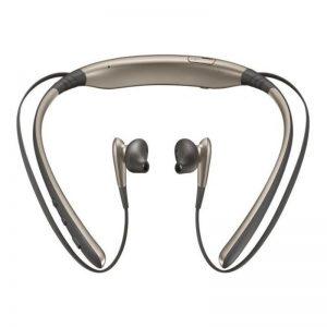 سامسونج سماعة أذن داخلية لاسلكية صغيرة ليفل U مزودة بميكروفون ذهبي