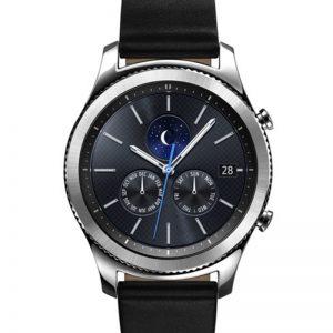 سامسونج ساعة جير S3 الذكية الكلاسيكية أسود/فضي