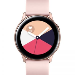 سامسونج Galaxy Active Smartwatch R500 ذهبي وردي