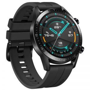 هواوي ساعة ذكية GT2 مقاس 46 مم (إصدار كلاسيكي) 46 mm أسود غير لامع