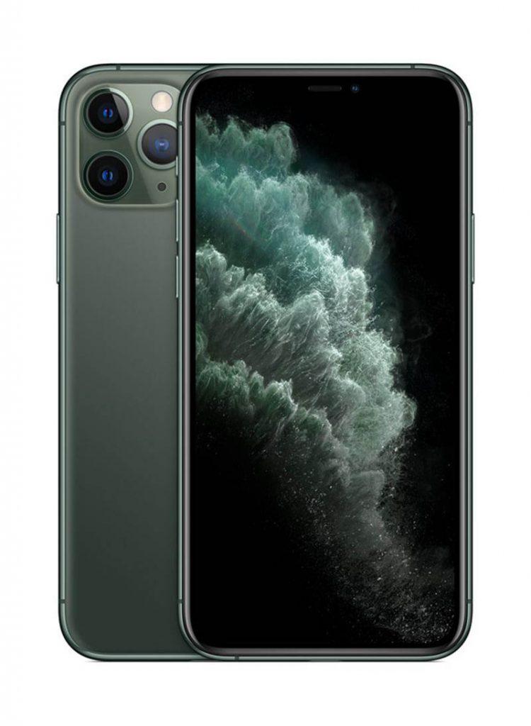 أبل موبايل آيفون 11 برو ماكس مع تطبيق فيس تايم – لون اخضر – سعة 256 جيجابايت – يدعم تقنية 4G LTE – مواصفات سعودية