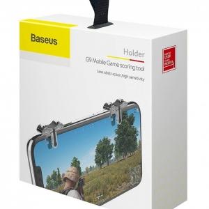 بيسوس G9 اداة اطلاق لالعاب الجوال لون اسود