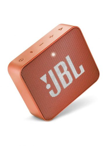 جي بي ال مكبر صوت بلوتوث محمول صغير مقاوم للماء GO2 برتقالي