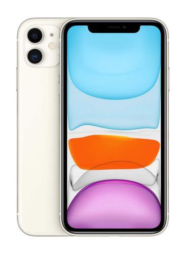 ابل ايفون 11 بخاصية فيس تايم 64 جيغابايت 4G LTE ابيض