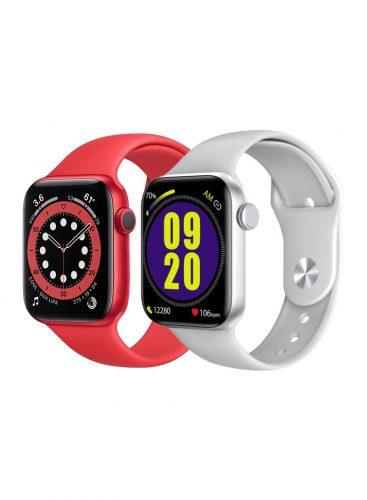 Roxxon Smart Watch RX-12 Silver + Red