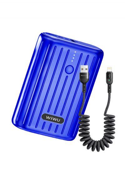 Power Bank Wiwu 10000mAh Blue