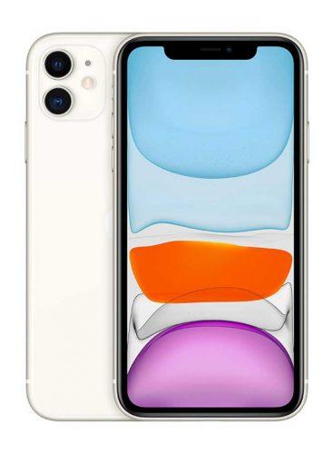 ايفون 11 بسعة 128 جيجا ابيض 4G LTE