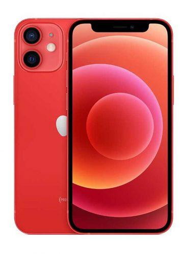 ابل ايفون 12 ميني بخاصية فيس تايم 256 جيجا 5G أحمر