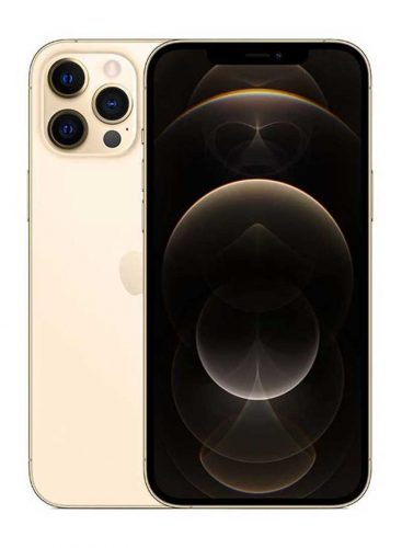 ابل ايفون 12 برو ماكس بخاصية فيس تايم 256 جيجا 5G ذهبي