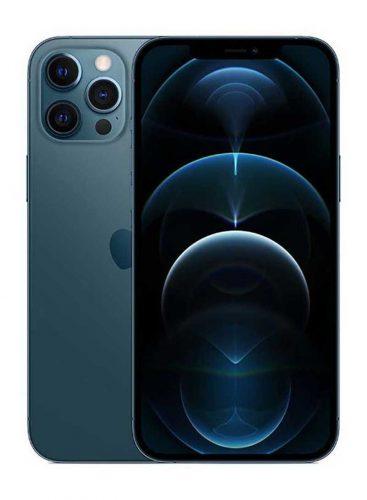 ابل ايفون 12 برو ماكس بخاصية فيس تايم 256 جيجا 5G أزرق محيطي