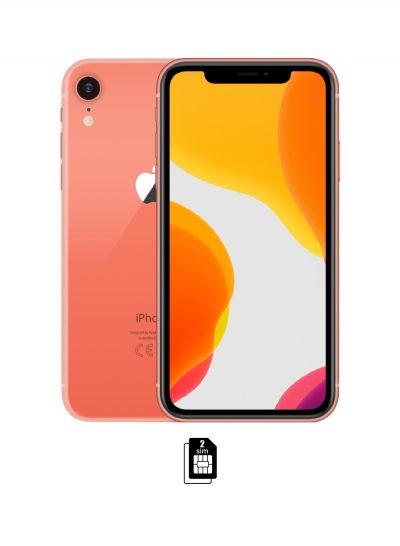 iPhone XR Dual SIM 128GB 4G LTE Coral