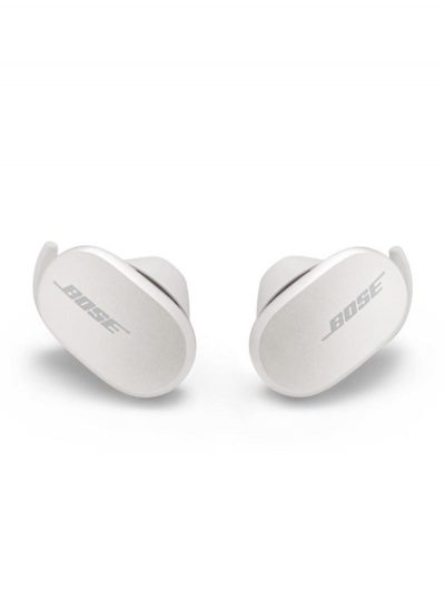 Bose QuietComfort True Wireless Noise Cancelling Bluetooth Earbuds Soapstone/White