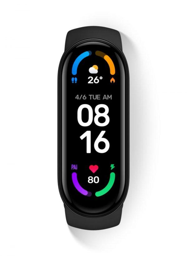 Xiaomi Mi Smart Band 6 Fitness Tracker Black