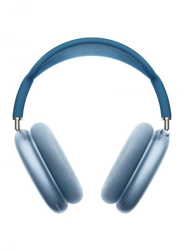 ابل ايربود ماكس سماعات لاسلكية بخاصية عزل الضوضاء ازرق سماوي