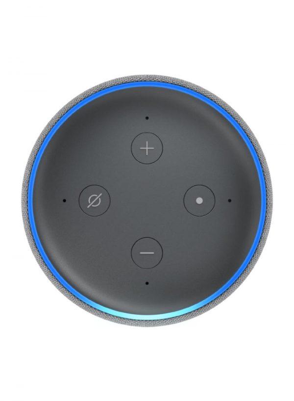 Amazon Echo Dot 3rd Gen Speaker Heather Gray